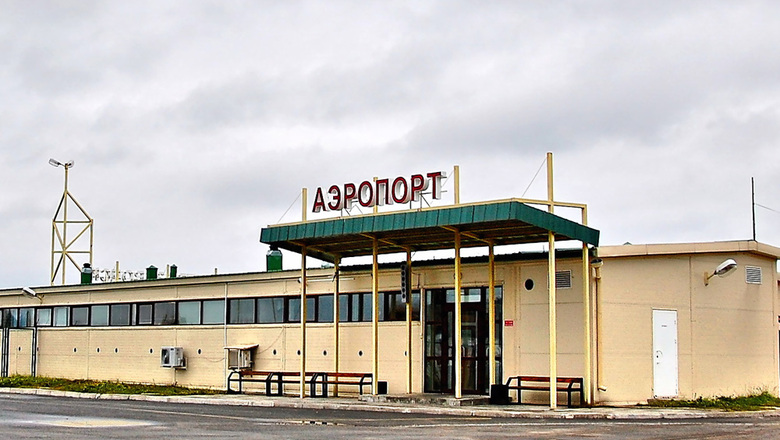 Besovets airport